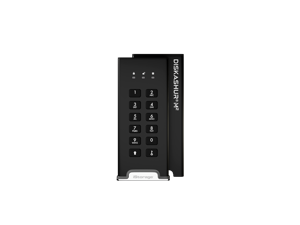 iStorage diskAshur M2 120GB - PIN authenticated, hardware encrypted USB 3.2 portable SSD. Ultra-fast, FIPS compliant, Rugged & Portable (IS-DAM2-256-120)