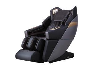 Ador Allure 3D L-Track Zero Gravity Full Body Massage Chair with Bluetooth, Voice Recognition, Memory Feature Brown