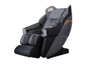 Ador Allure 3D L-Track Zero Gravity Full Body Massage Chair with Bluetooth, Voice Recognition, Memory Feature (Black)