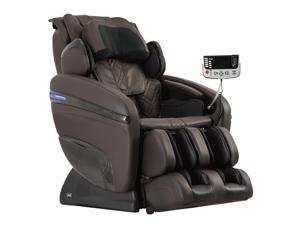 Osaki OS-Pro 7200H Pinnacle Full-body Massage Chair with 51 Airbags, Heat Therapy and Zero gravity (Brown)