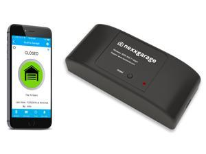 Nexx Garage - Smart WiFi Garage Door Opener using Smartphone, Amazon Alexa & Google Home.