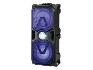 "Supersonic IQ-5265DJBT 2 x 6.5"" Tailgate Bluetooth Speaker with Disco Light Blue"