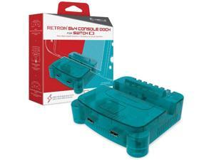 Hyperkin RetroN S64 Console Dock for Switch (Turquoise) - Nintendo Switch