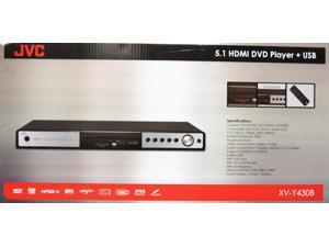 JVC XV-Y430B All Region Code Free HDMI DVD Player 5.1 Channel USB PAL NTSC