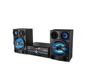 Supersonic IQ Sound IQ-9000BT HiFi Multimedia Audio System with Bluetooth and AUX/USB/Mic Inputs