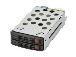 Supermicro MCP-220-82616-0N 2x2.5 HDD SAS3 SATA3 1xRear Drive Bay Brown Box