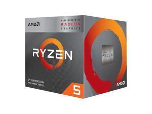 AMD YD3400C5FHBOX Ryzen 5 3400G with Radeon RX Vega 11 Graphics Quad-Core 3.7GHz Socket AM4, Retail