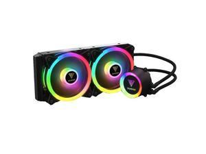 Gamdias CHIONE M2-240R All-In-One Liquid CPU Cooler for LGA2066 - 2011-v3 - 2011 - 1151 - 1150 - 1155 - 1156 - 1366 - 775 - AM4 - AM3+ - AM3 - AM2+ -