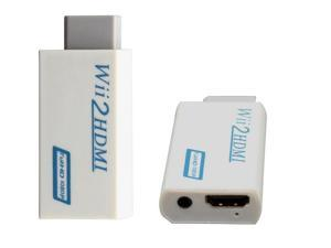 Wii To HDMI 720P 1080P Upscaling Converter Adapter with 3.5mm Audio Output