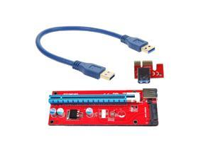 30cm PCI-E PCI Express X16 Extender PCIE Riser Card usb 3.0 pcie Mining Card Adapter for bitcoin mining BTC motherboard device