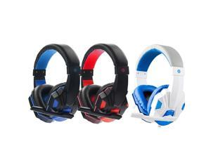 Surround Stereo Gaming Headset Headband Headphone 3.5mm with Mic Gaming Headset PC Gamer Stereo Headphone with Microphone