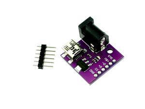 MINI USB 5V USB socket power connector AMS1117-3.3V DC power outlet 1 order