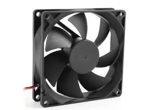 Mokingtop2018 2200RPM 80mm Case Fan 3-Pin Molex Connector DC 12V Computer PC CPU Silent Cooling Fan Black