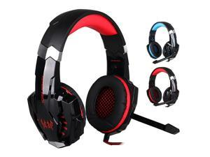 G9000 Stereo Gaming Headphone Computer Game Headset Earpieces Headphone Earbuds Headset with Mic Light for PC  Phone