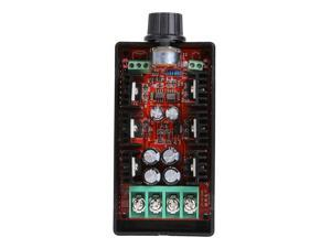 DC10-40V PWM DC Motor Speed Control Board 1600W 40A DC Brush Motor Speed Governing Electronic Fan Speed Control