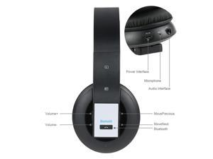 Wireless  Foldable Stereo Wireless  Headset With Microphone For Phone for PUBG with Microphone Stereo Laptop Computer