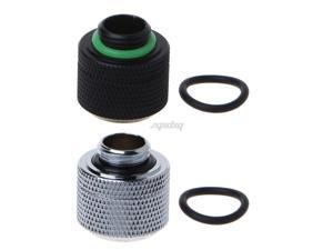 14mm G1/4 Thread 3 Laps Rigid Hard Tube Fast Twist 10x14mm Connetor for PC Computer Water Cooling System AUG_22 Dropship