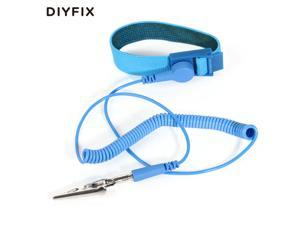 Anti Static ESD Wrist Strap Elastic Band with Clip for Sensitive Electronics Repair Work Tools