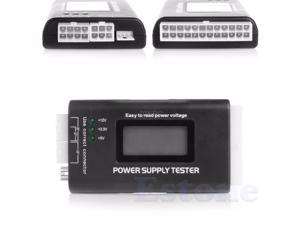 LCD PC Computer 20/24 Pin 4 PSU ATX BTX ITX SATA HDD Power Supply Tester Whosale&Dropship