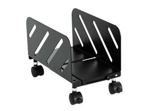 AIMEZO CPU Stand, Computer Tower Stand Mobile PC Holder with Rolling and Locking Caster Wheels