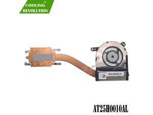 Laptop CPU Heatsink Fan for DELL Latitude 12 5290 5280 5285 2in1 0NYN03 EG50040S1-CC00-S9A DC28000K5SL DFS1503058R01 AT25H0010AL