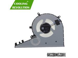 Laptop Cooling Fan 6033B053701 6033B0053801 DC5V 0.5A 4Pin for HP ENVY 17-AE TOUCH Series