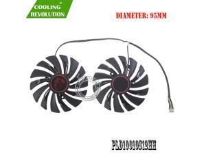 NEW 95mm PLD10010S12HH 4PIN Cooler fan For MSI GTX 960 GTX 970 GAMING GTX 950 GTX 1060 RX 470 GAMING X Graphic Card Fan