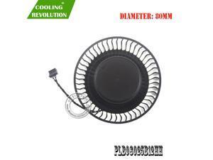 PLB08025B12HH DC12V 2.50A 4Pin Graphics Fan