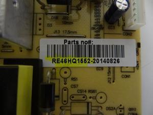 RCA LED60B55R120Q LED58G45RQ Power Supply (RS178S-3T03) RE46HQ1552