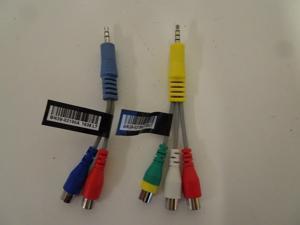 OEM Genuine Samsung AV Adapter Cable Set - BN39-02190A BN39-02189A - NEW