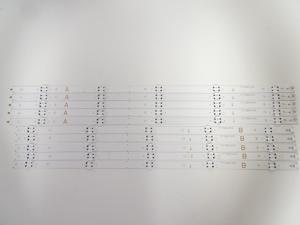 Vizio D60-F3 LED Backlight Strip Set (10) D60-F3 A_REV00_50LED_171206 / B