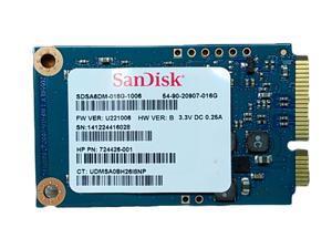 "SanDisk U110 SDSA6DM-0116G 16GB 1.8"" mSATA 6Gb/s Solid State Drive"