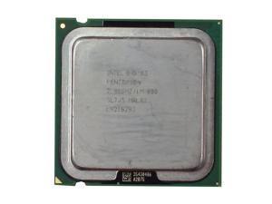 INTEL Sl7J5  Pentium4 2.8Ghz 1Mb L2 Cache 800Mhz Fsb Lga775 Socket Processor Only