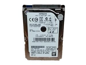 "Hitachi  HTS541010A9E662 TravelStar 5K1000 1TB 2.5"" SATA III (6.0Gb/s) Laptop Hard Drive"