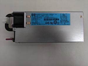 Hp 499250-301 460 Watt Common Slot High Efficiency Redundant Power Supply For Proliant Dl380 G6 Ml350 G6 G7 G8