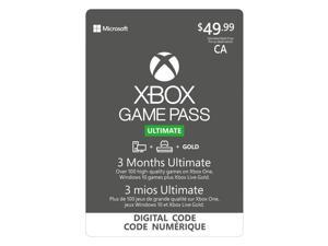 Xbox Ultimate 3 Months Game Pass - Download