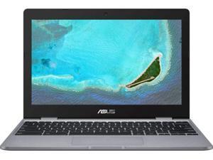 "Asus Chromebook 11.6"" Laptop (Intel Celeron, 4GB RAM, 16GB eMMC, Chrome OS) - Gray (CX22NA-BCLN4)"