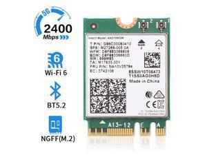 Dual Band 2974Mbps AX210NGW 802.11ax/ac Wireless card For Intel WI-FI 6E AX201 M.2 NGFF Bluetooth 5.2 Wifi Network Wlan 2.4G/5G