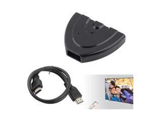 1080P Hub V1.3B HDMI Switch Switcher Splitter Cable For HDTV XBOX PS3