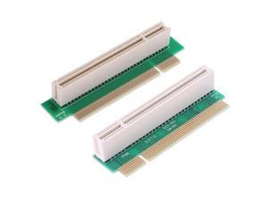 PCI Male to Female 32Bit 90 Degree Right Angled Riser Extension Card Adapter for 1U PCI Chassis