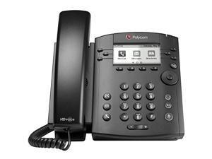 Polycom VVX 311 Corded Business Media Phone System - 6 Line PoE - 2200-48350-025 - Replaces VVX 310