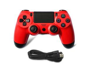 For PS4 Wired Game Controller Gamepad (Red)