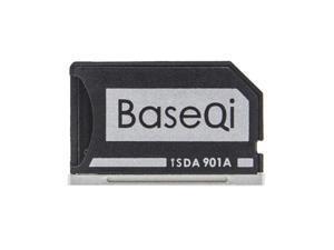 BASEQI Hidden Aluminum Alloy SD Card Case for Lenovo IdeaPad 710S Plus Laptop