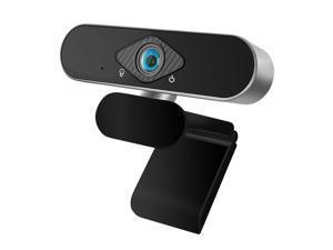 Webcam, HD 1080P Webcam Built-in Microphone Smart Web Camera USB Computer Game Online Course Live Video Camera