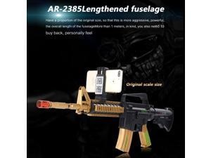 AR-2385 ABS Material Smart Bluetooth V4.2 Handle Controllers AR Gun Toy for Games, Support iOS & Android Smartphones (Gold)