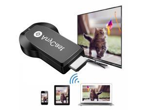 AnyCast M2 Plus Wireless WiFi Display Dongle Receiver 1080P HDMI TV Stick  DLNA Airplay Miracast for Smart Phones Tablet PC to HDTV Monitor -