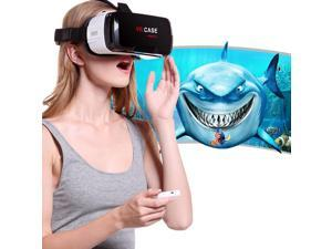 VR CASE RK-6TH Virtual Reality 3D Glasses Bluetooth Remote Control for iPhone, Samsung, Huawei, Xiaomi, 4.7 inch - 6 inch Android & iOS Smartphone