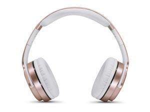 SODO MH3 Bluetooth 4.2 Foldable Wireless Bluetooth Headset with Mic (Rose Gold)