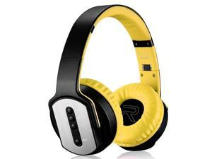 SODO MH2 Bluetooth 4.2 Foldable Wireless Bluetooth Headset with Mic (Yellow)