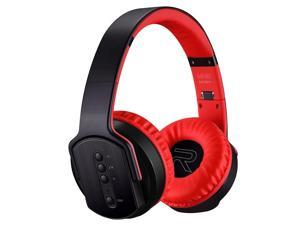 SODO MH2 Bluetooth 4.2 Foldable Wireless Bluetooth Headset with Mic (Red)